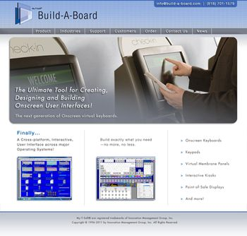 IMG Build-A-Board website