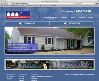 OptionsWebsiteScreenshot